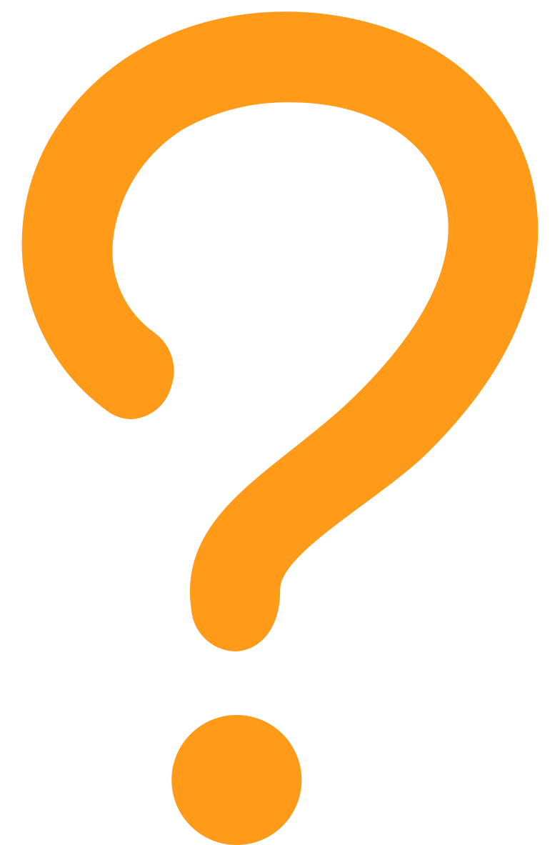 interrogative question yellow Clipart illustration in PNG, SVG