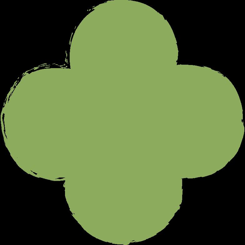 quatrefoil-dark-green Clipart illustration in PNG, SVG