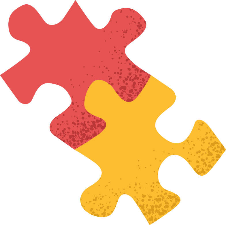 puzzle-2parts Clipart illustration in PNG, SVG