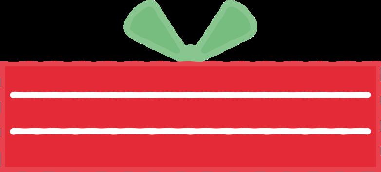 Ilustración de clipart de regalo en PNG, SVG