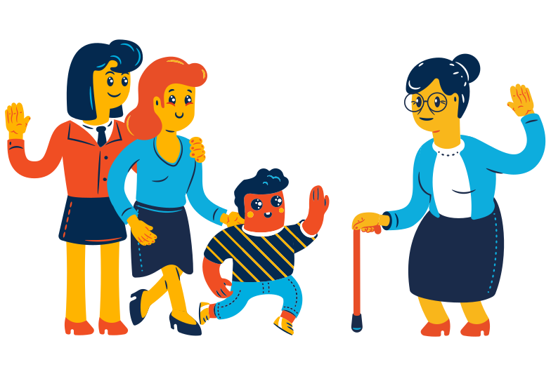 style Family visit Vector images in PNG and SVG | Icons8 Illustrations