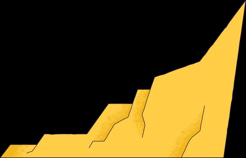 rock cliff Clipart illustration in PNG, SVG
