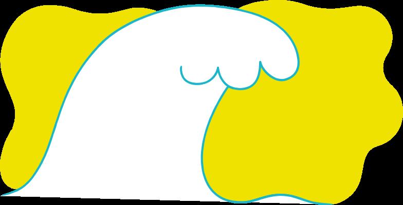 wave background Clipart illustration in PNG, SVG