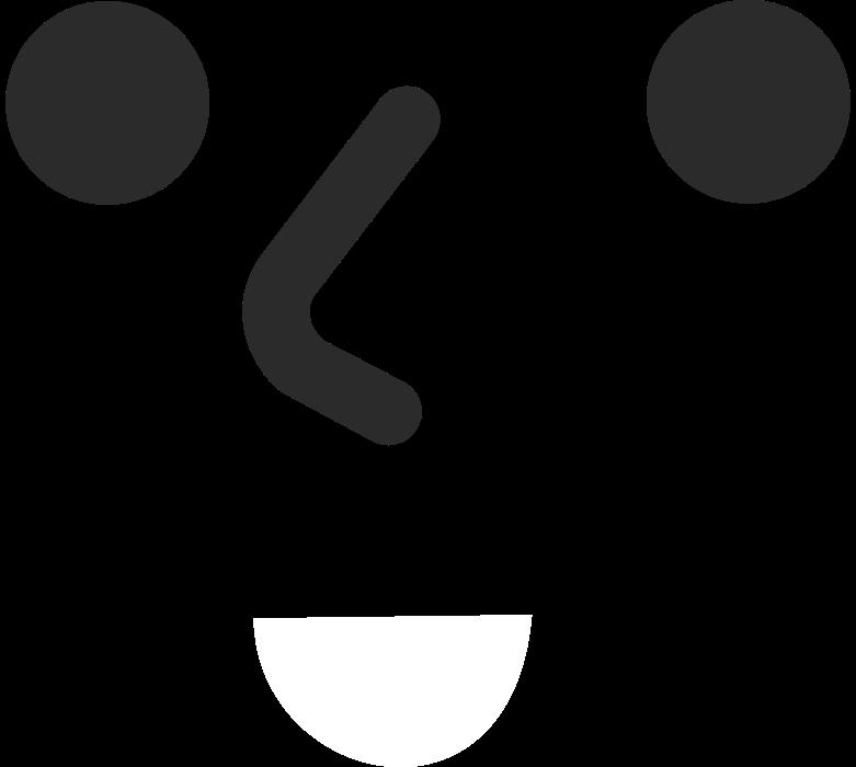 smiling face Clipart illustration in PNG, SVG