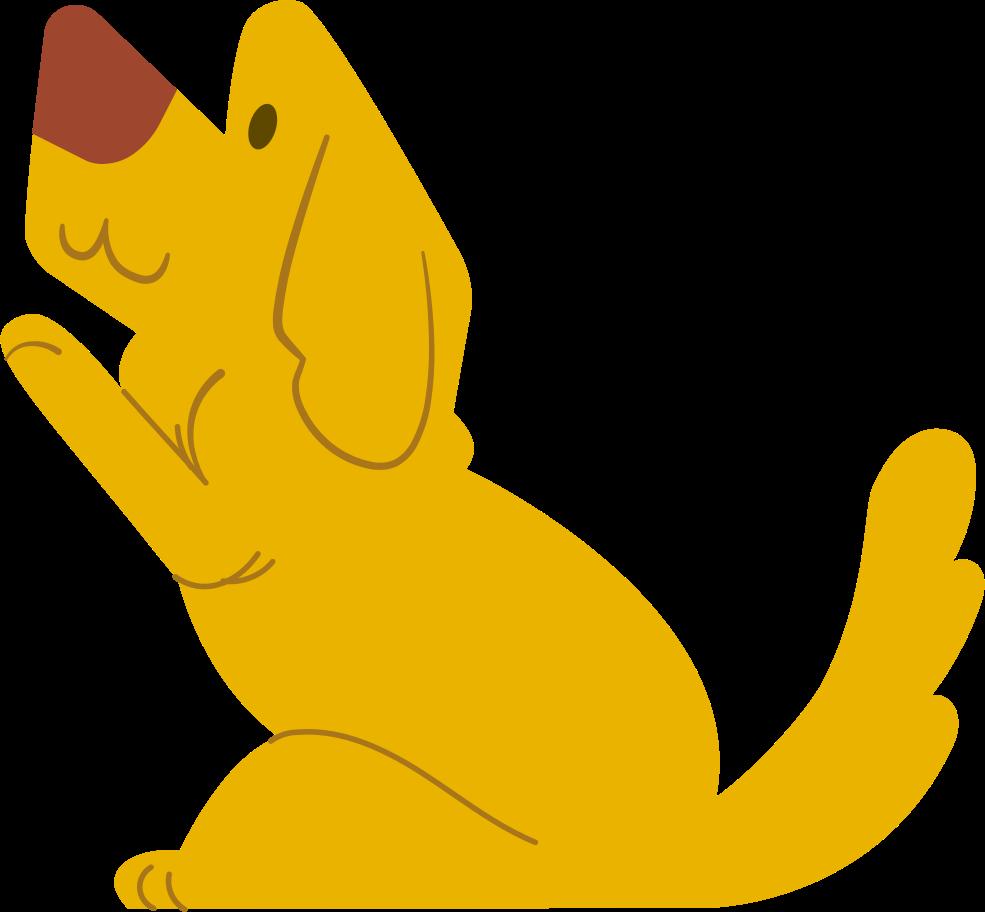 cucciolo Illustrazione clipart in PNG, SVG