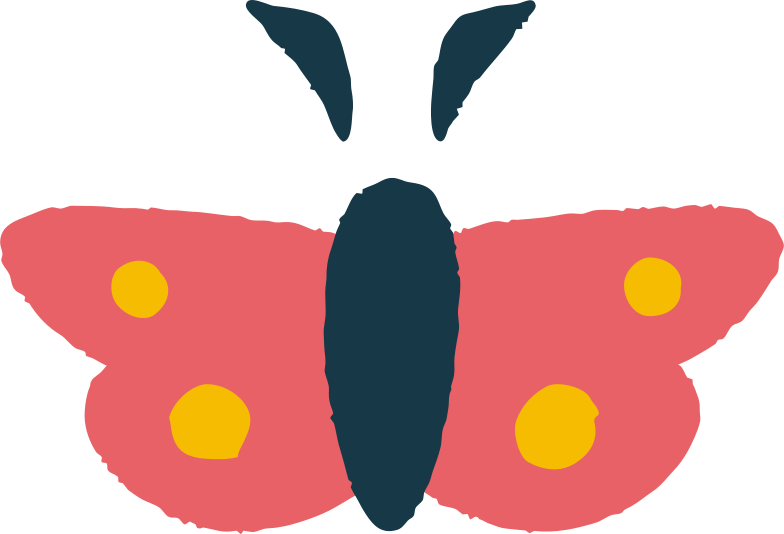 butterfly Clipart illustration in PNG, SVG