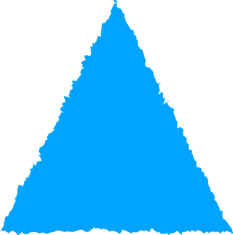 style triangle sky blue Vector images in PNG and SVG | Icons8 Illustrations