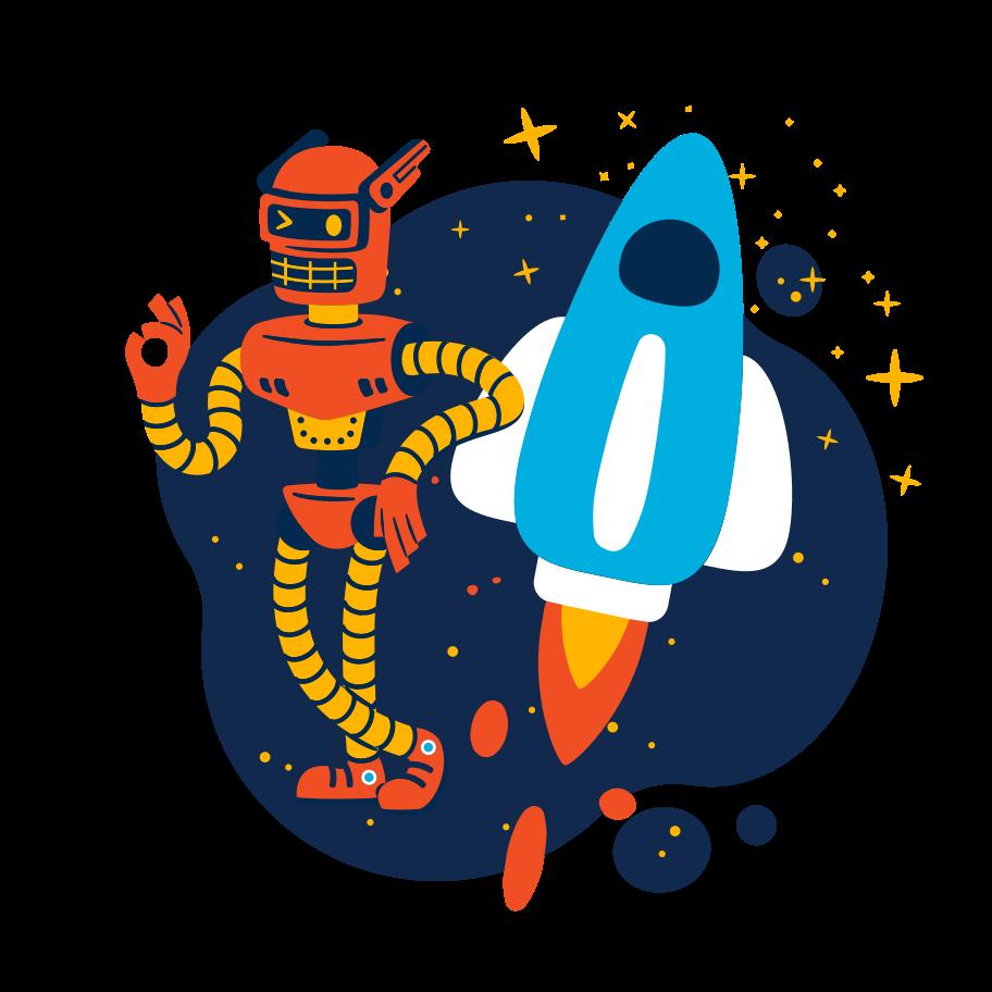 Start up support Clipart illustration in PNG, SVG