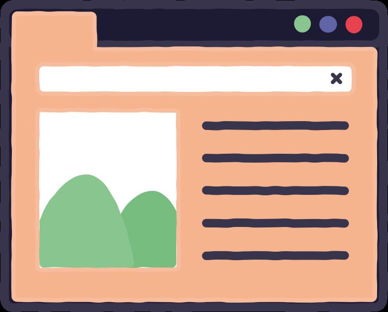 browser Clipart illustration in PNG, SVG