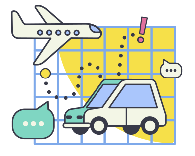style Travel planing images in PNG and SVG | Icons8 Illustrations