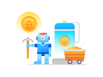 style mineração de bitcoin images in PNG and SVG | Icons8 Illustrations