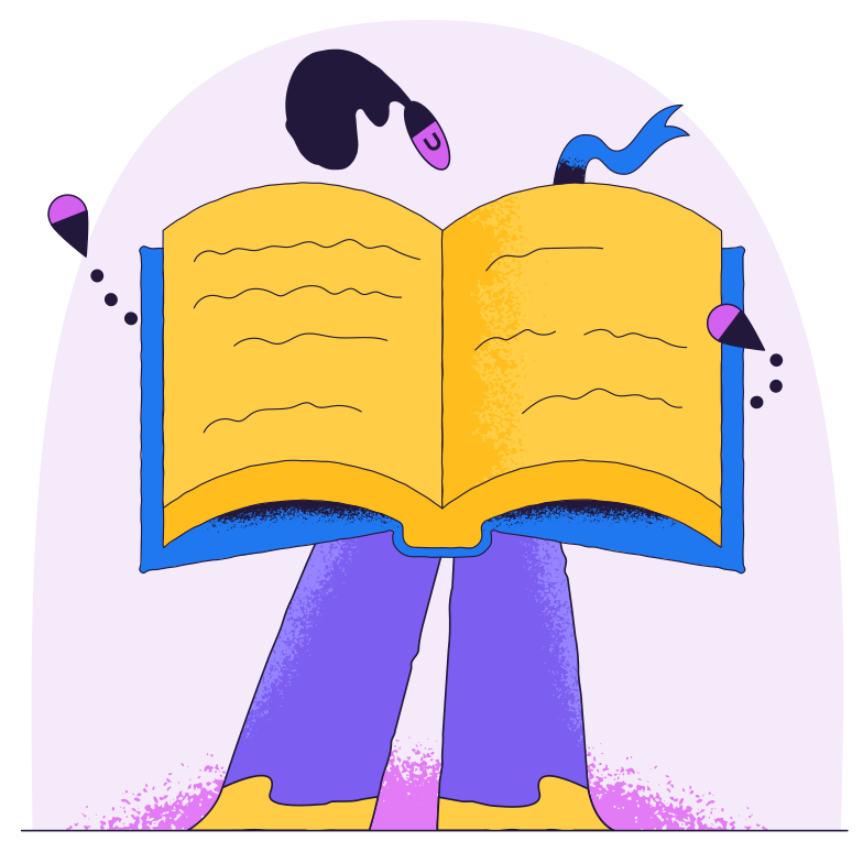 style Person like an open book Vector images in PNG and SVG | Icons8 Illustrations