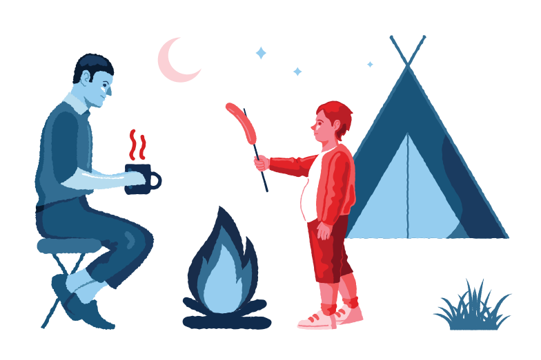 style Camping Vector images in PNG and SVG | Icons8 Illustrations