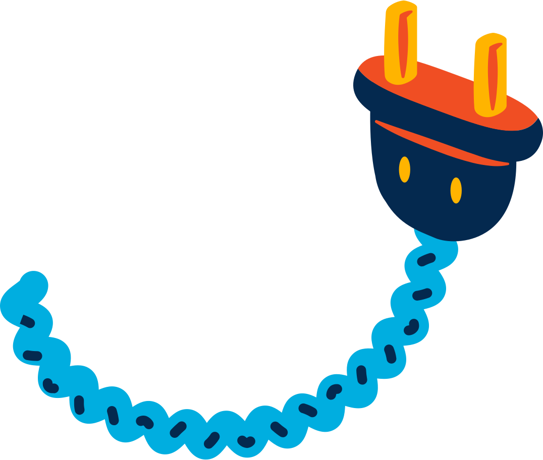 ac plug Clipart illustration in PNG, SVG
