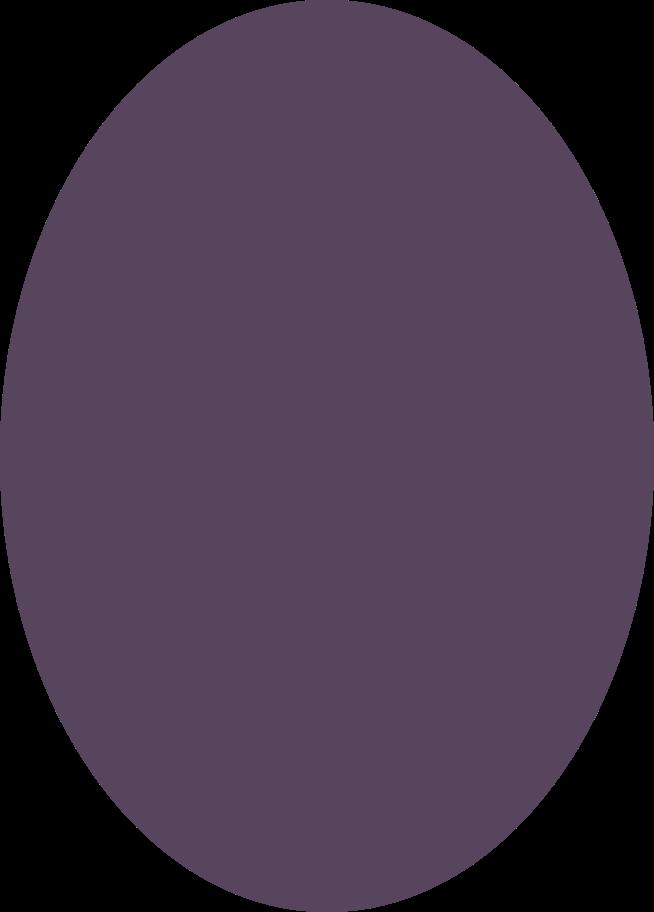 ellipse purple Clipart illustration in PNG, SVG