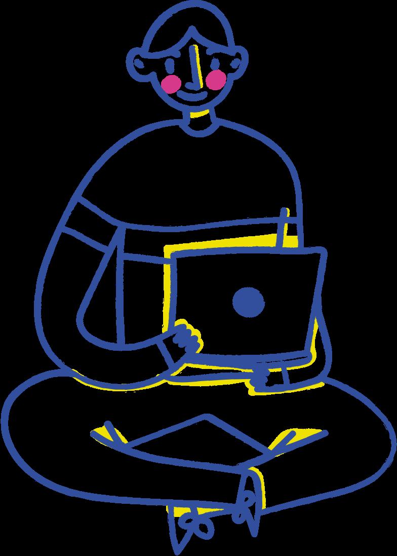 it developer Clipart illustration in PNG, SVG