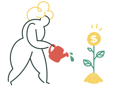 style Dollar growth images in PNG and SVG | Icons8 Illustrations
