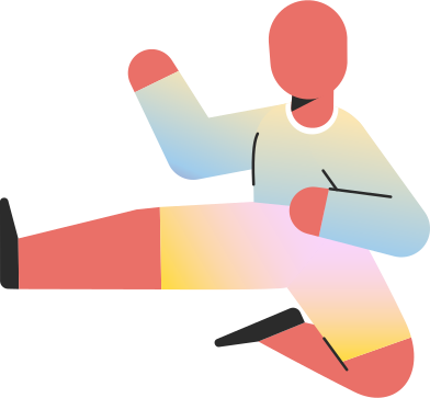 style child jump kick images in PNG and SVG | Icons8 Illustrations