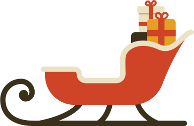 style santa sleigh images in PNG and SVG | Icons8 Illustrations