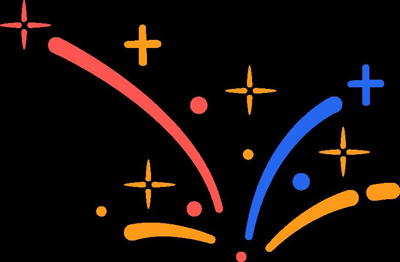 firework Clipart illustration in PNG, SVG