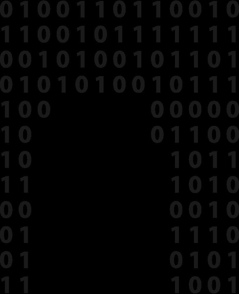erased matrix Clipart illustration in PNG, SVG