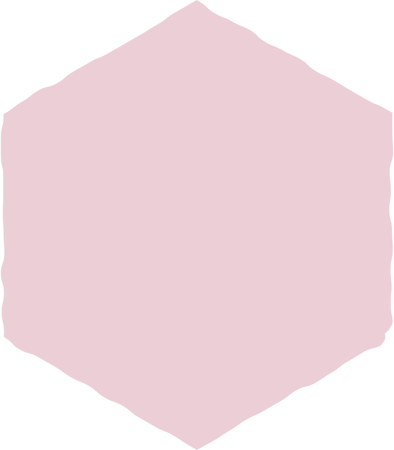 hexagon pink Clipart illustration in PNG, SVG