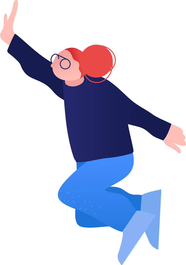 style granny jumping Vector images in PNG and SVG | Icons8 Illustrations