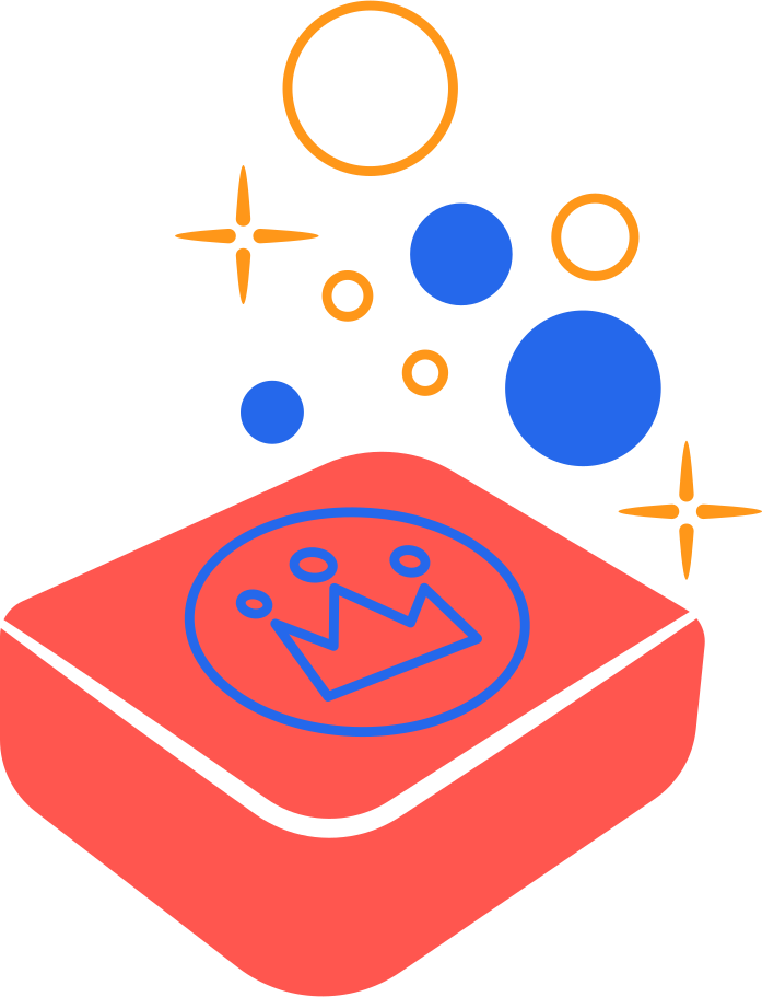 soap king Clipart illustration in PNG, SVG