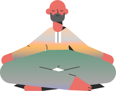 style man meditation images in PNG and SVG | Icons8 Illustrations