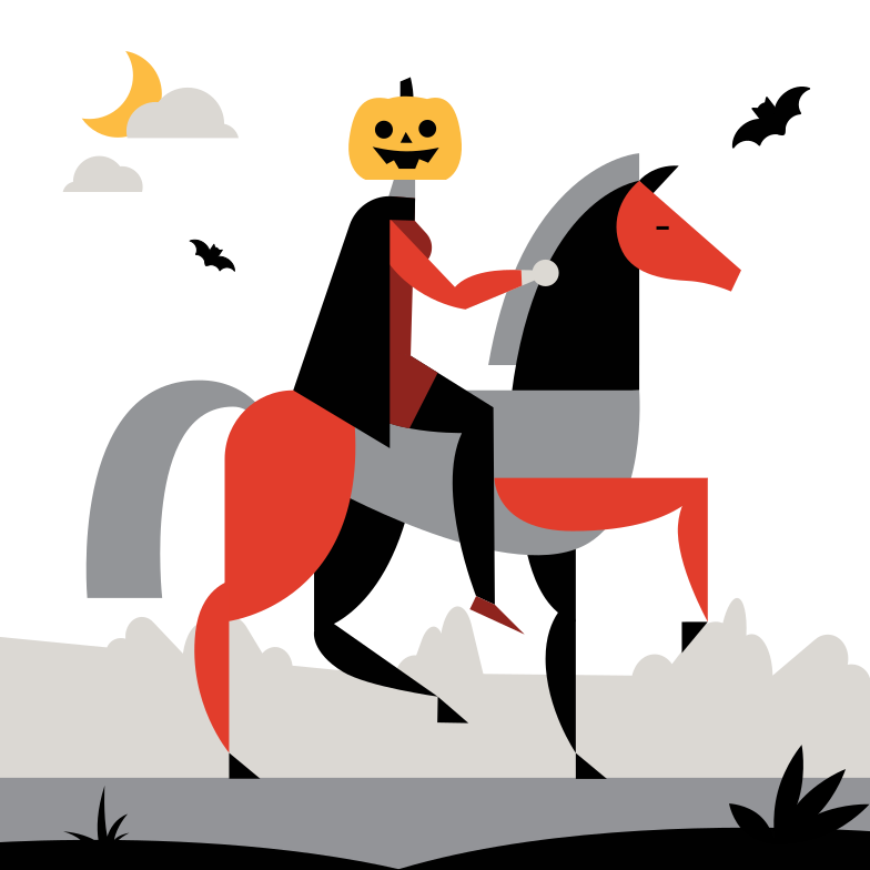 Jack Pumpkin Head Clipart illustration in PNG, SVG