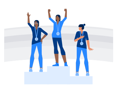 style Olympic medalists images in PNG and SVG | Icons8 Illustrations