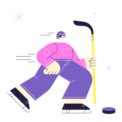 style Hockey images in PNG and SVG | Icons8 Illustrations