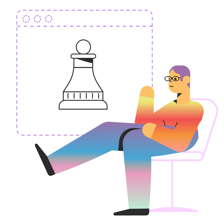 style Play chess Vector images in PNG and SVG | Icons8 Illustrations