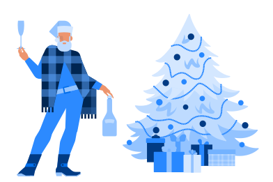 style Christmas party images in PNG and SVG | Icons8 Illustrations