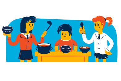 style Family lunch images in PNG and SVG | Icons8 Illustrations
