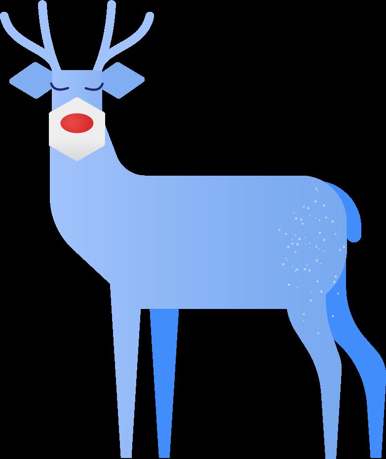 deer Clipart illustration in PNG, SVG
