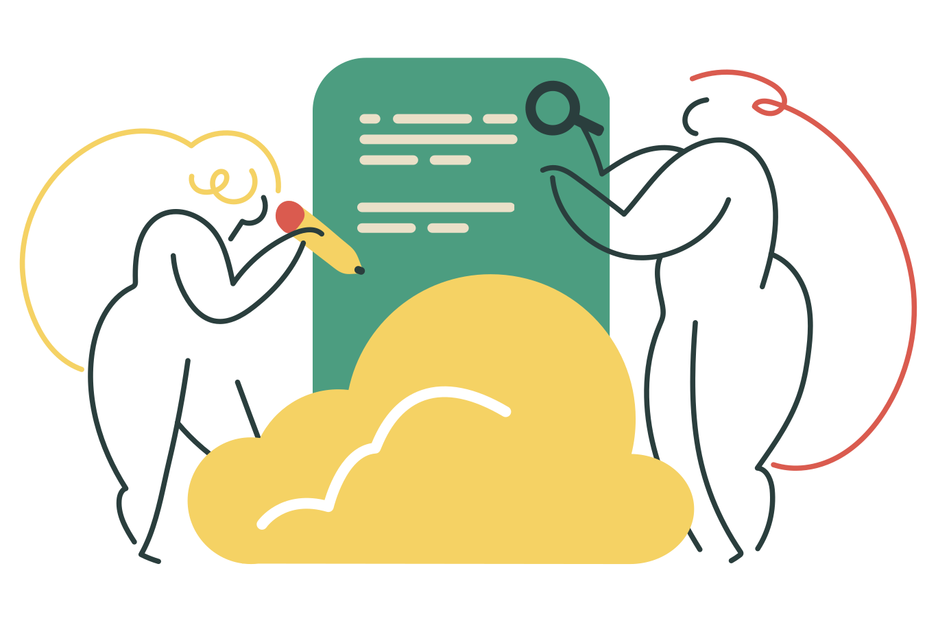style Cloud collaboration Vector images in PNG and SVG | Icons8 Illustrations