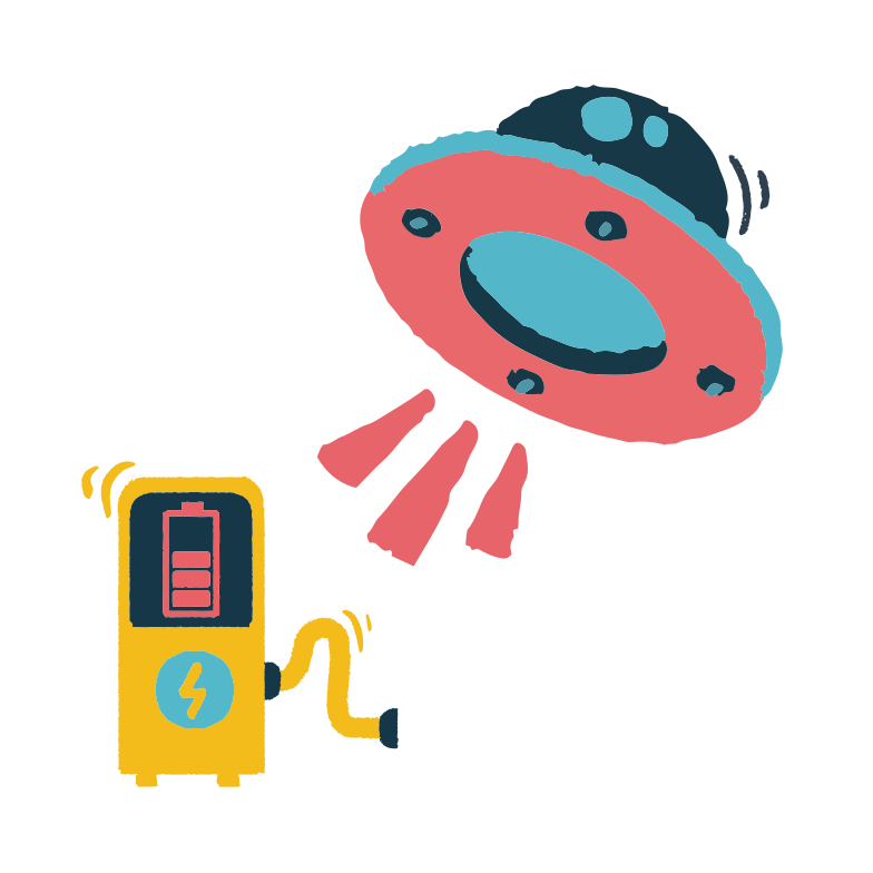 Recharging Clipart illustration in PNG, SVG