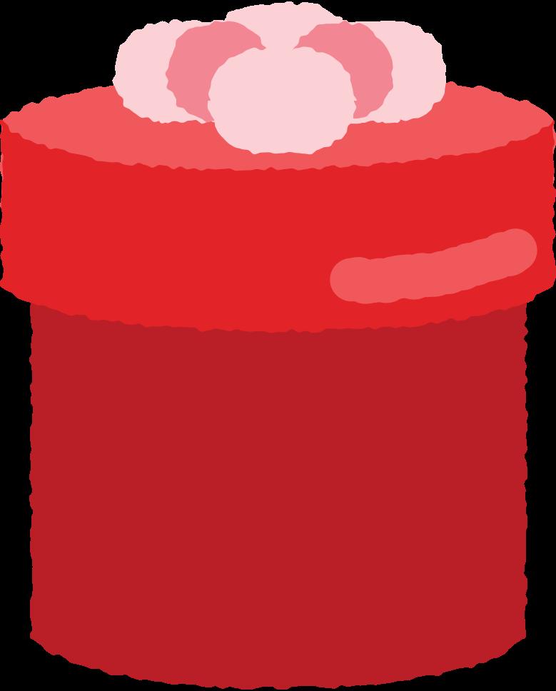 Иллюстрация круглая коробка подарка с бантом в стиле  в PNG и SVG | Icons8 Иллюстрации