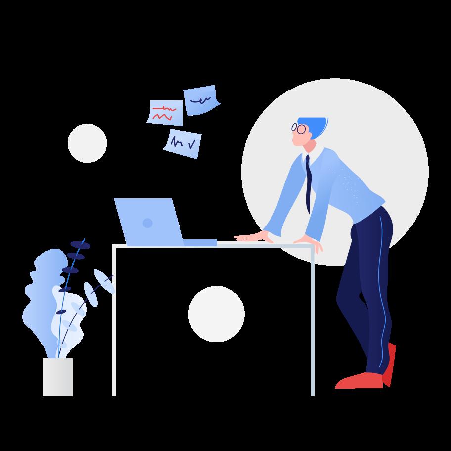 hart arbeitender mann Clipart-Grafik als PNG, SVG