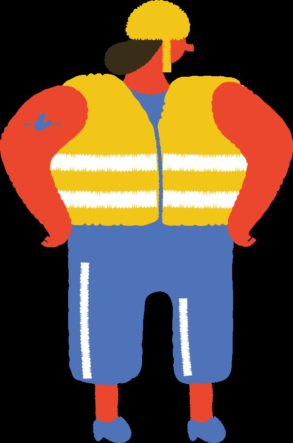 builder Clipart illustration in PNG, SVG