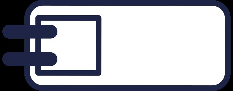 case 2 line Clipart illustration in PNG, SVG