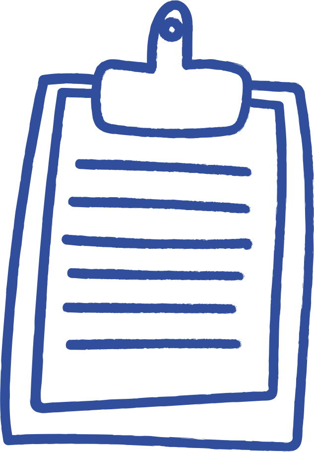 pad list Clipart illustration in PNG, SVG