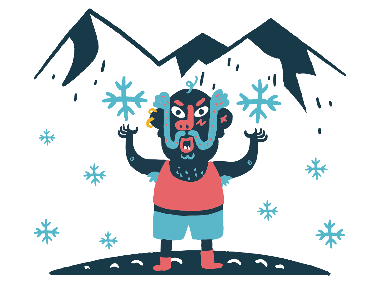 Snow lord Clipart illustration in PNG, SVG