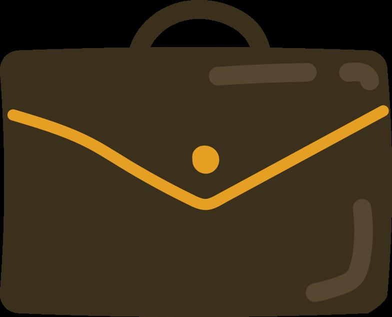 Illustration clipart briefcase aux formats PNG, SVG