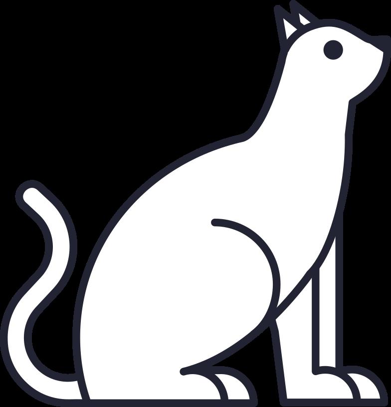 halloween preparation  cat Clipart illustration in PNG, SVG