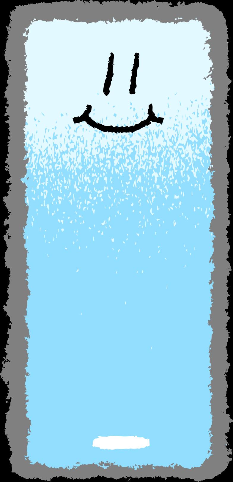 Smartphone gesicht Clipart-Grafik als PNG, SVG