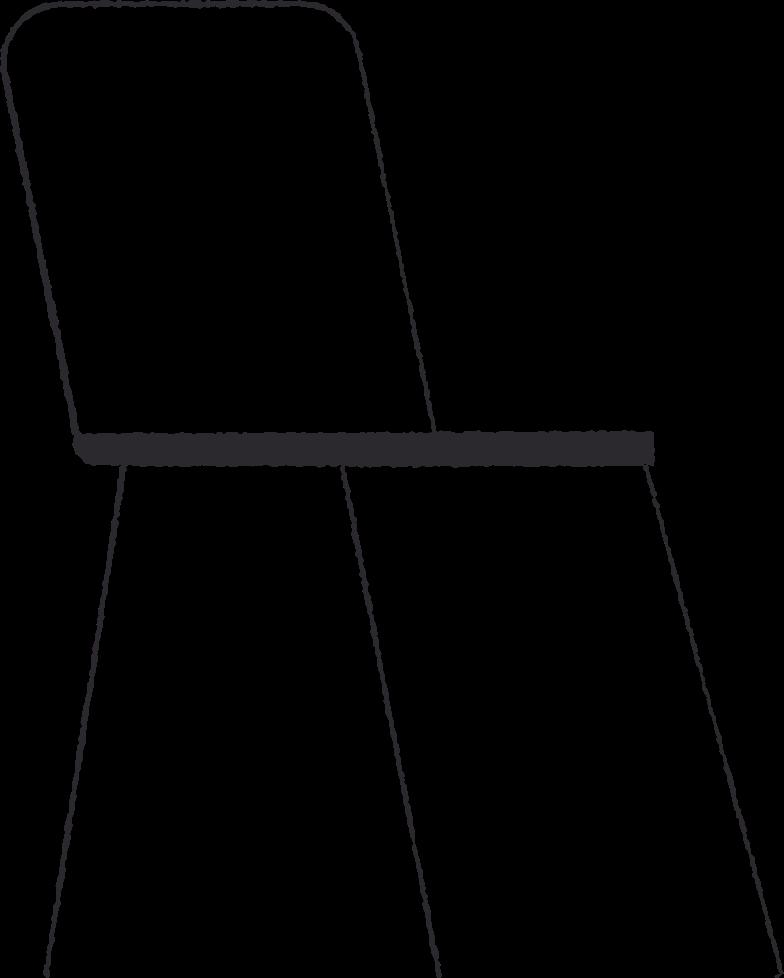 Ilustración de clipart de chair en PNG, SVG