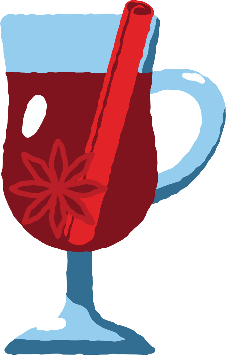 mulled wine Clipart illustration in PNG, SVG