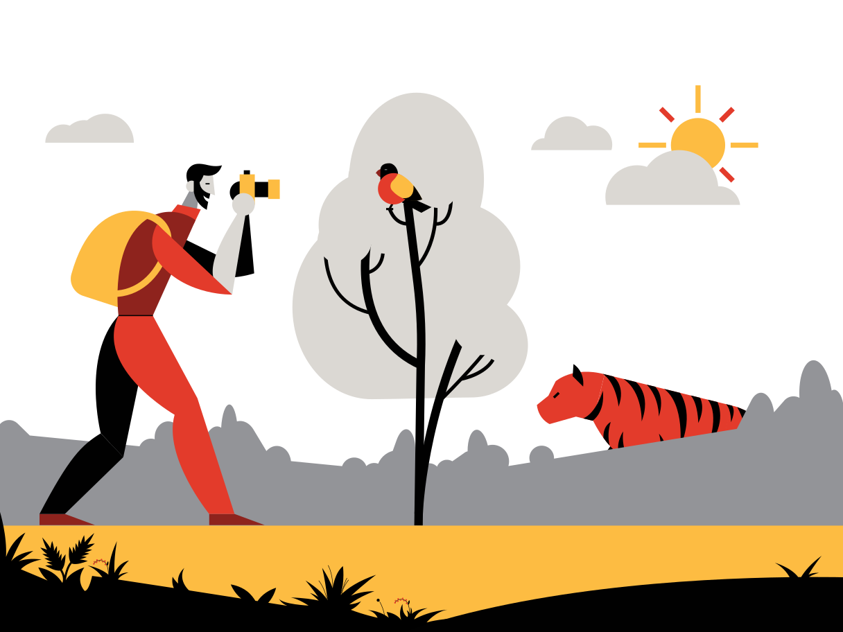 Dangerous situation Clipart illustration in PNG, SVG